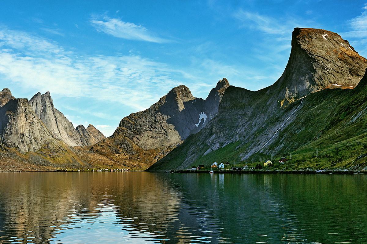 Claes Grundsten bok Lofoten 9 Kjerkfjorden