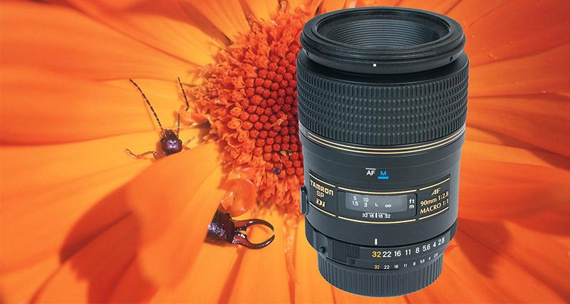 Tamron SP 90mm f/2.8 Di Macro julklappstips objektiv för makrofotografering