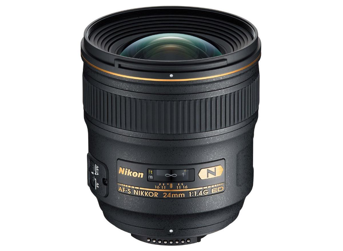 Nikon AF-S 24 mm f/1,4 G ED test objektiv