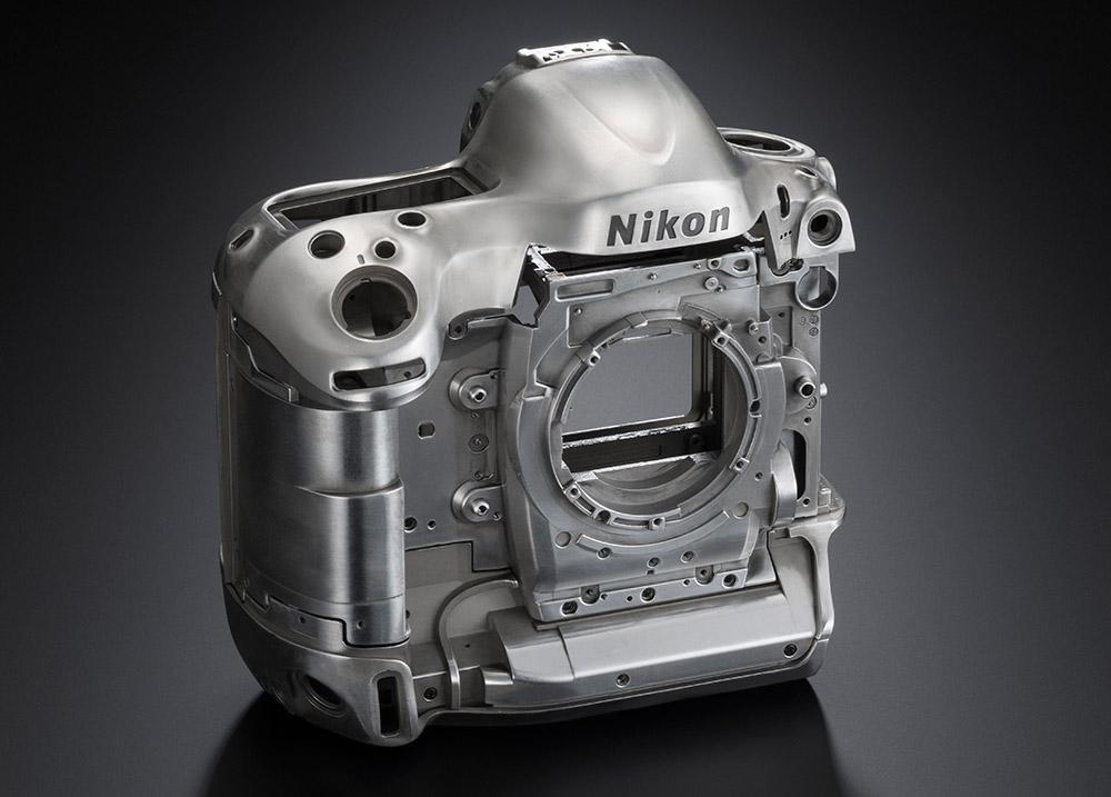 Nikon D4S magnesiumchassi