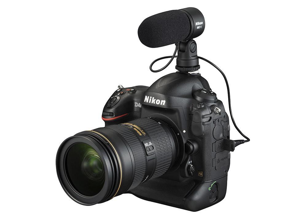 Nikon D4S video extern mikrofon
