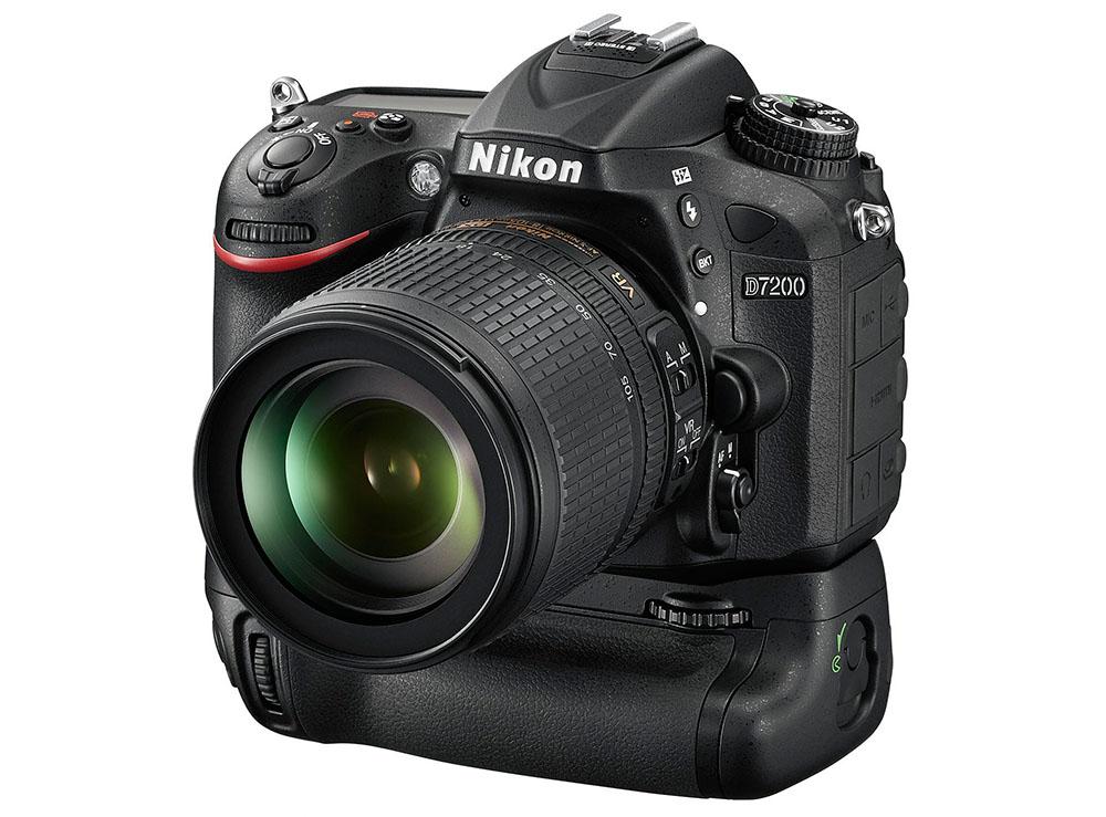 Nikon D7200 systemkamera batterigrepp MB-D15