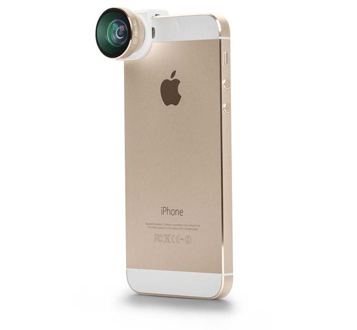 Olloclip 4-in-one objektiv iPhone julklappstips för mobiltelefonen