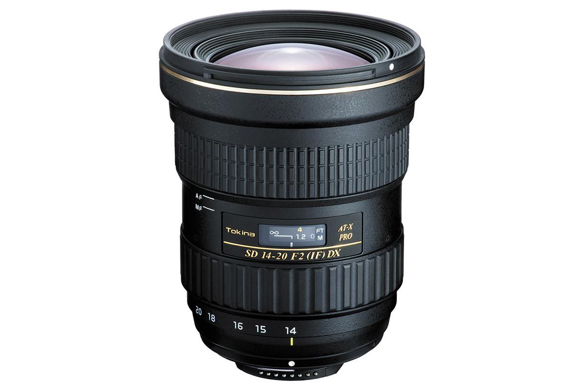 Tokina AT-X 14-20 mm f/2 Pro DX