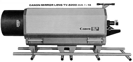 Canon 5200mm/14 teleobjektiv supertele