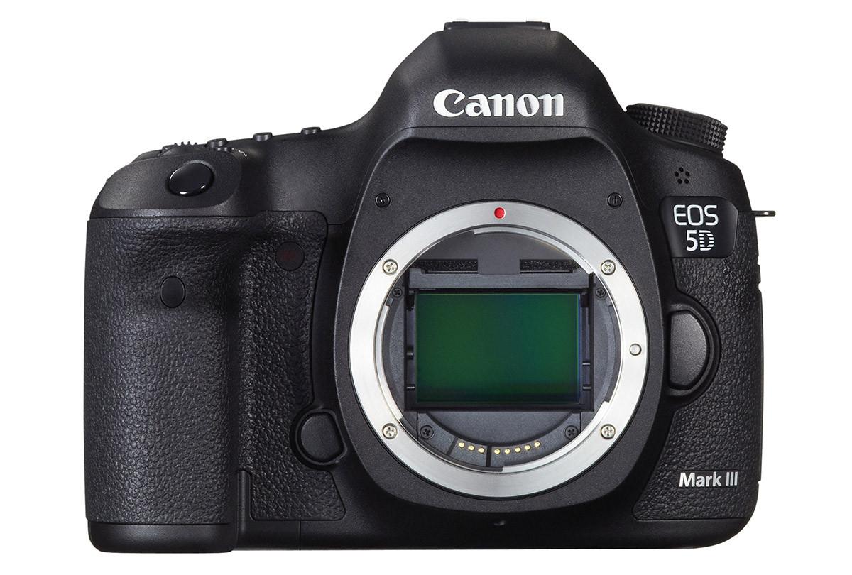 Canon EOS 5D Mark III test 22 megapixel fullformat CMOS sensor