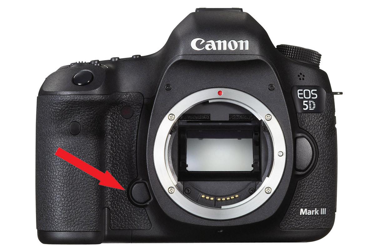 Canon EOS 5D Mark III test spegel