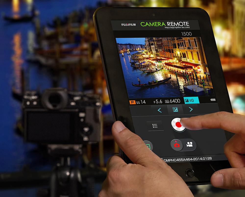 Fujifilm X-T1 Wifi kamerastyrning