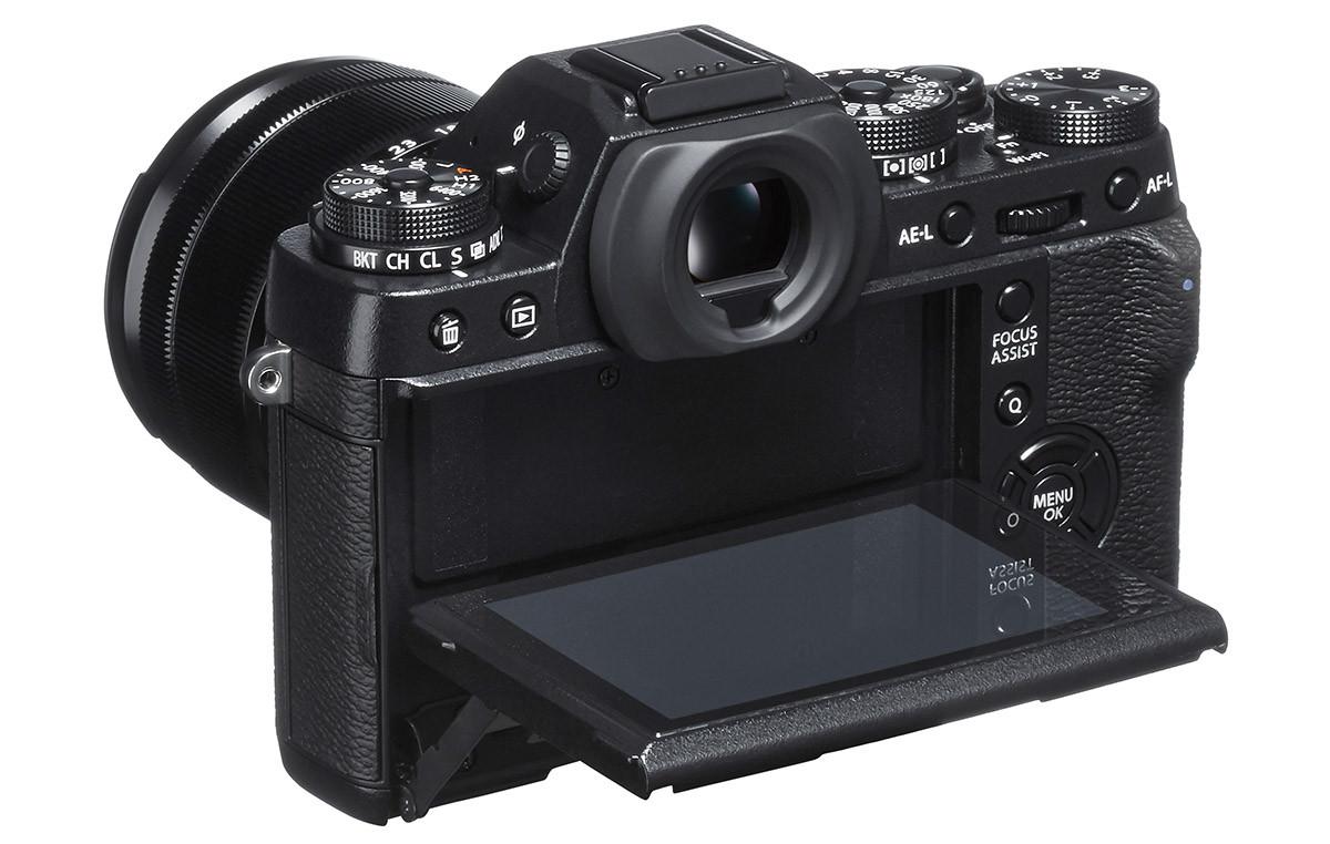 Fuji X-T1 vikbar skärm test av Christian Nilsson Objektivtest.se