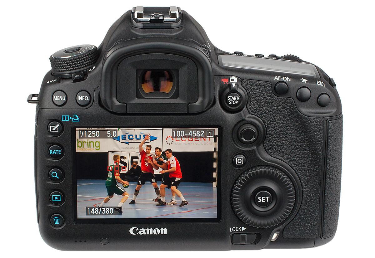 Kameratest Canon EOD 5D mark III baksida test av Objektivtest.se