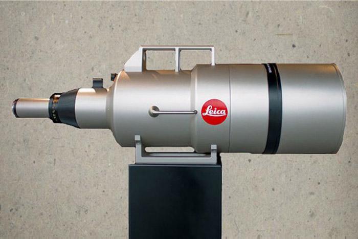 Leica APO Telyt R 1600mm f/5.6 superteleobjektiv ett av världens dyraste objektiv