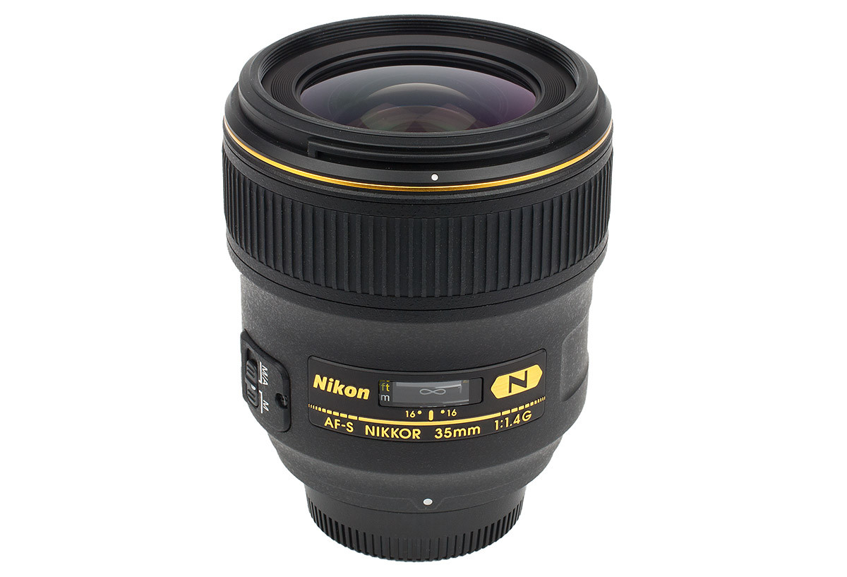 Nikon AF-S 35 mm f/1,4 G test vidvinkelobjektiv fullformat objektivtest