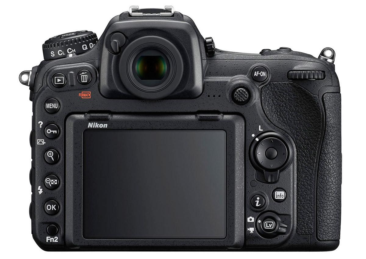 Nikon D500 baksida