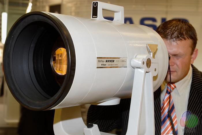 Nikon Reflex Nikkor 2000mm/11 supertele objektiv