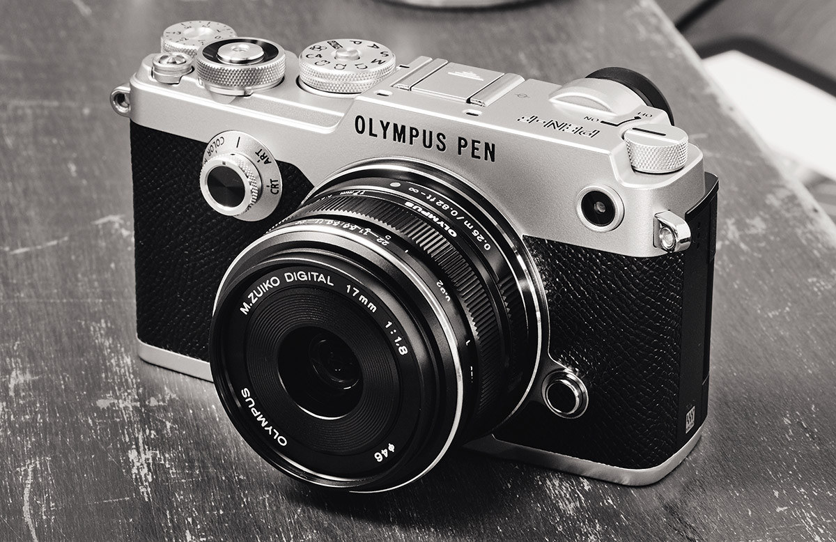 Olympus Pen-F 20 megapixel Four Thirds