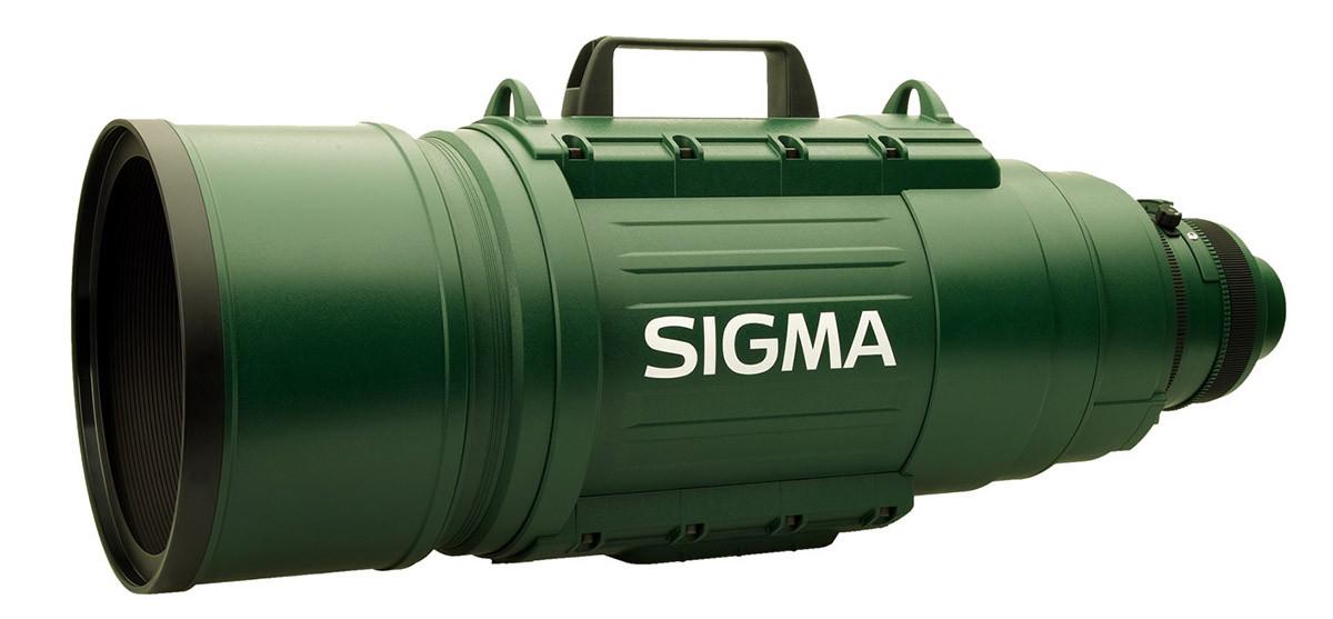Sigma EX 200-500mm f/2.8 APO DG HSM ett av världens största teleobjektiv lista på Objektivtest.se