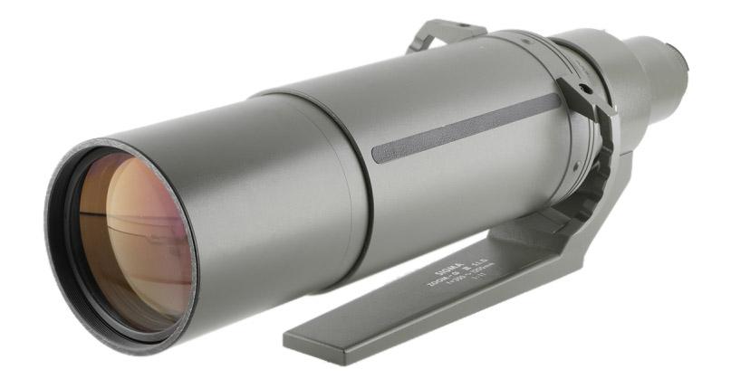 Sigma Omega 350-1200mm APO f/11 superteleobjektiv ett av världens största teleobjektiv lista på Objektivtest.se