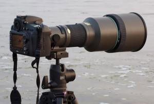Tamron SP 400 mm f/4 LD IF – en ljusstark gammal kanon!