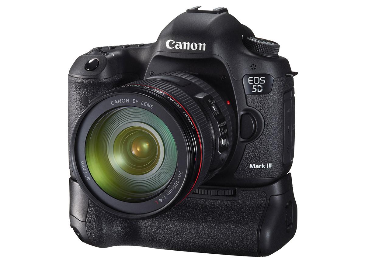 Test Canon EOS 5D Mk III batterigrepp BG-E11