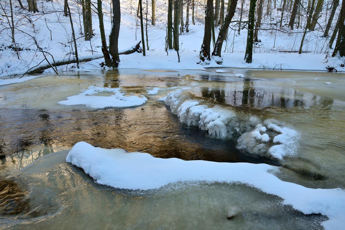Vinter naturfotografering Skäralid vid Skärån foto Christian Nilsson Objektivtest.se
