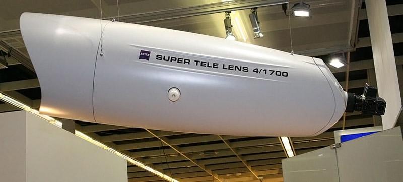 Zeiss APO Sonnar 1700 mm f/4 världens största teleobjektiv