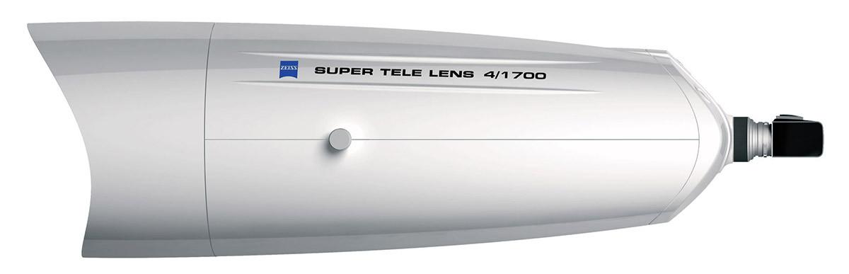 Zeiss APO Sonnar 1700mm f/4 supertele med Hasselblad 203 FE ett av världens största teleobjektiv