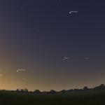 Unik chans för astrofoto – fem planeter synliga med blotta ögat
