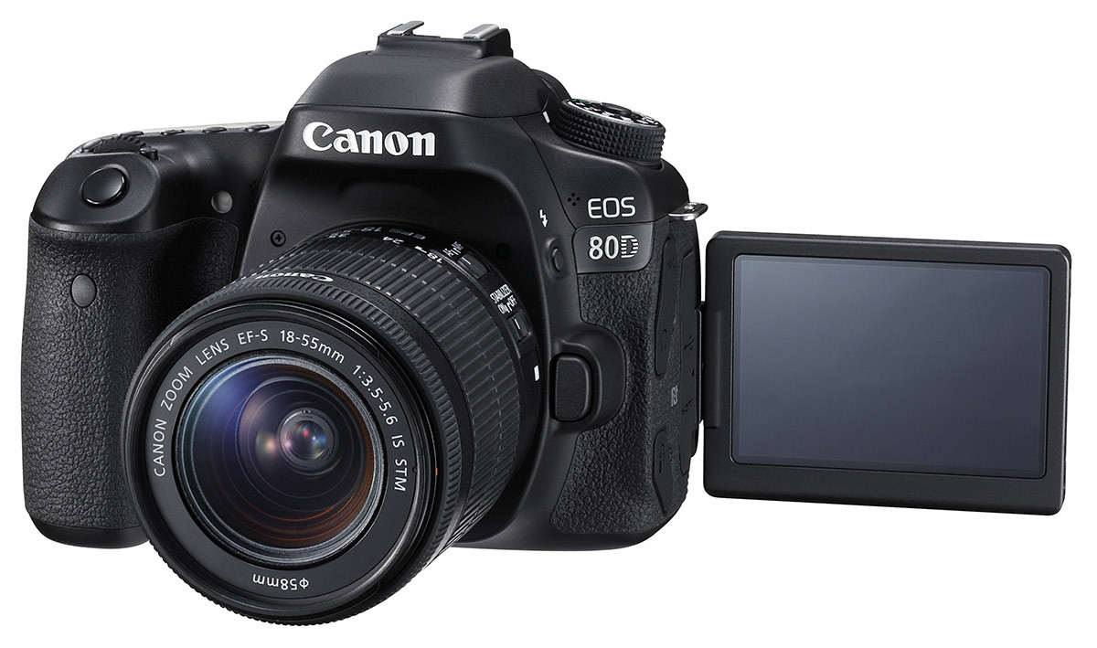 Canon EOS 80D systemkamera APS-C 24 megapixel 45 fokuspunkter