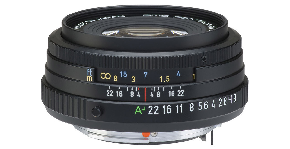 Pentax SMC FA 43 mm f/1,9 Limited test fullformatsobjektiv