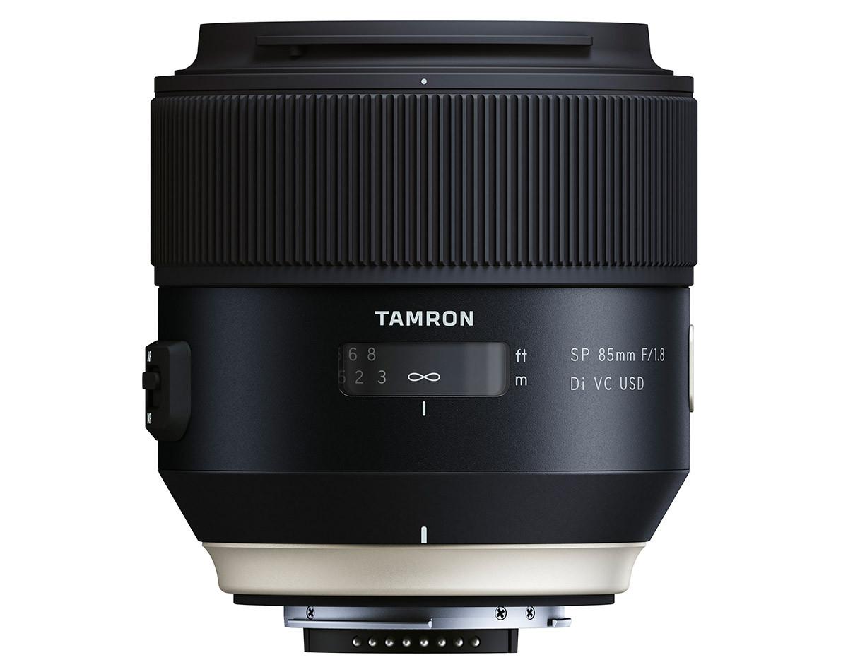 Tamron SP 85 mm f/1,8 Di VC USD porträttobjektiv