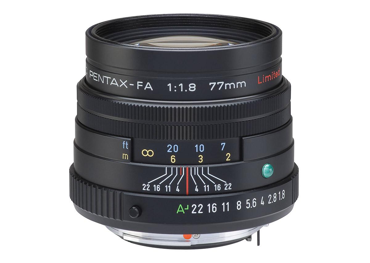 Test fullformatsobjektiv Pentax SMC FA 77mm f/1.8 Limited
