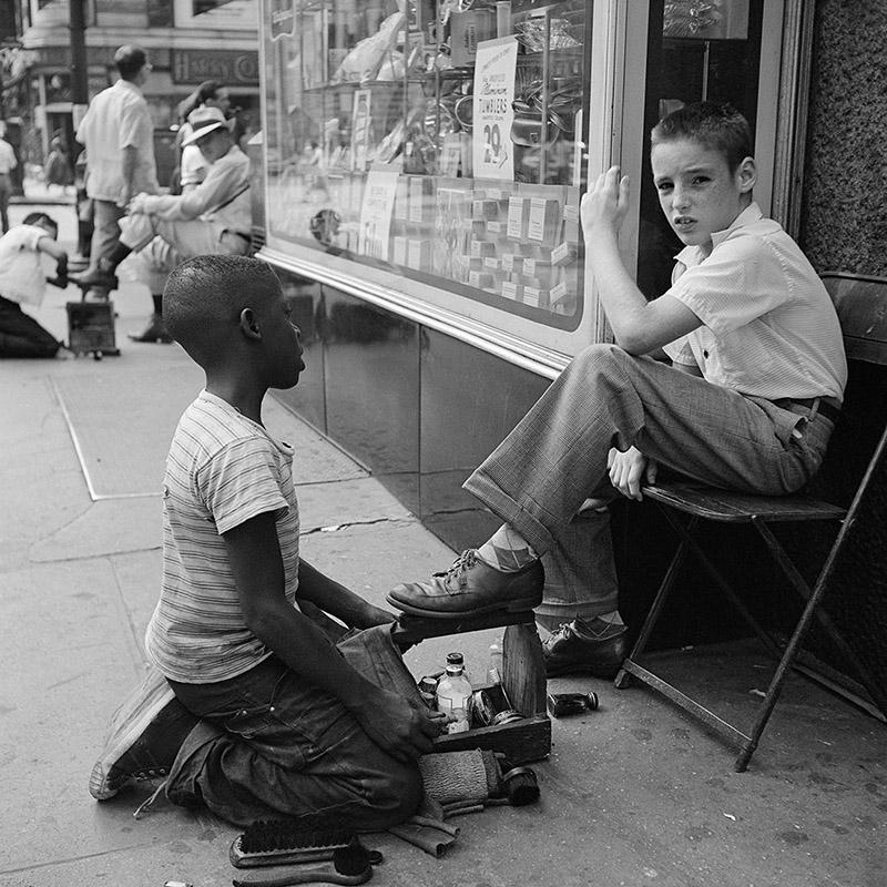 Vivian Maier gatufotograf New York 1954