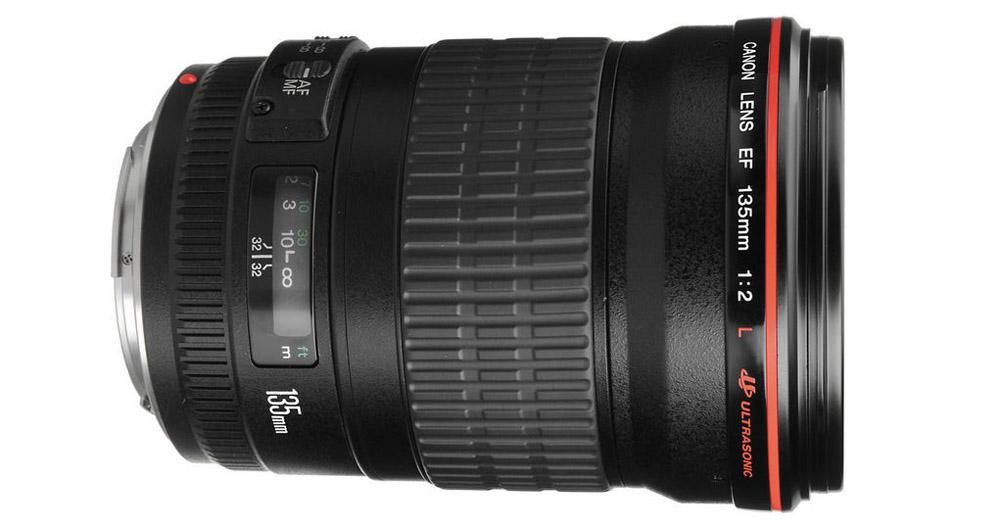 Canon EF 135mm F2 Test fullformat teleobjektiv