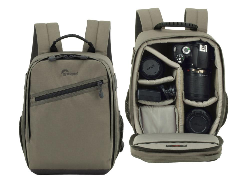 fotoryggsäck LowePro Traveler 150 andra och tredje pris i fototävling på Objektivtest.se