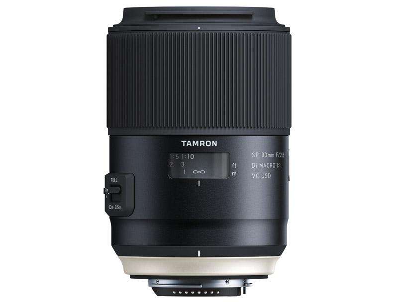 Nya Tamron SP 90mm F2.8 Di VC USD