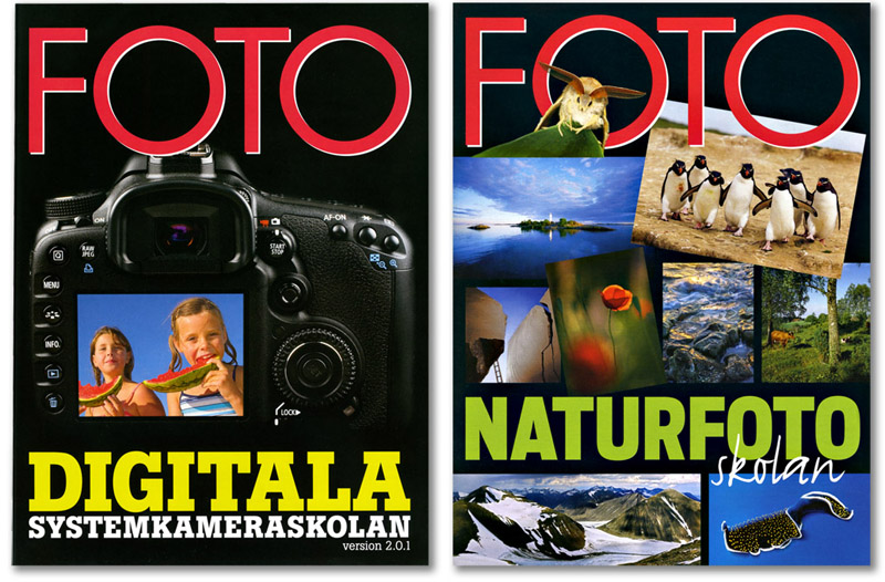 Digitala Systemkameraskolan och Naturfotoskolan annons