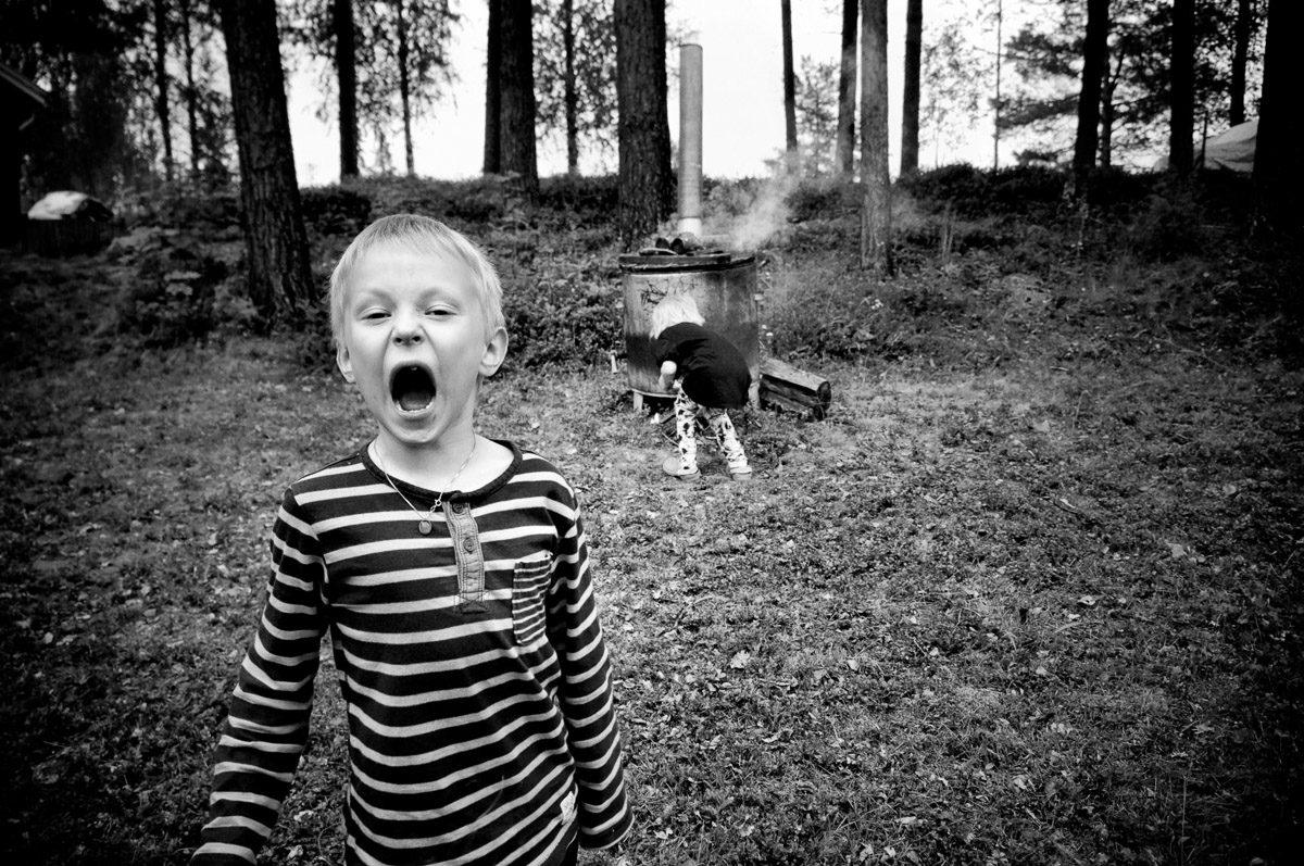 barn foto Dag Almevall Luleå hedersomnämnd i fototävling på Objektivtest.se