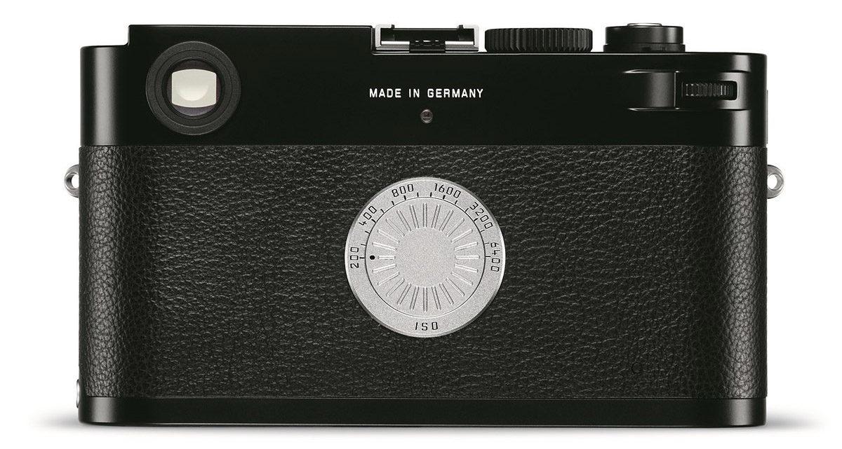 Leica M-D Typ 262 baksida ingen skärm