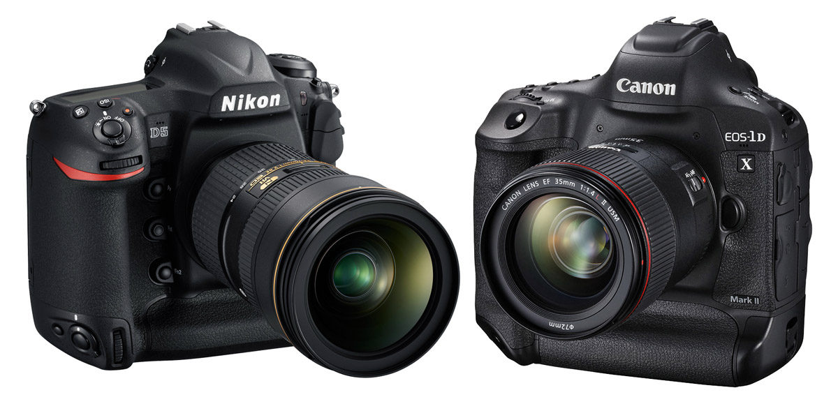 Nikon D5 vs Canon EOS 1D X Mark II