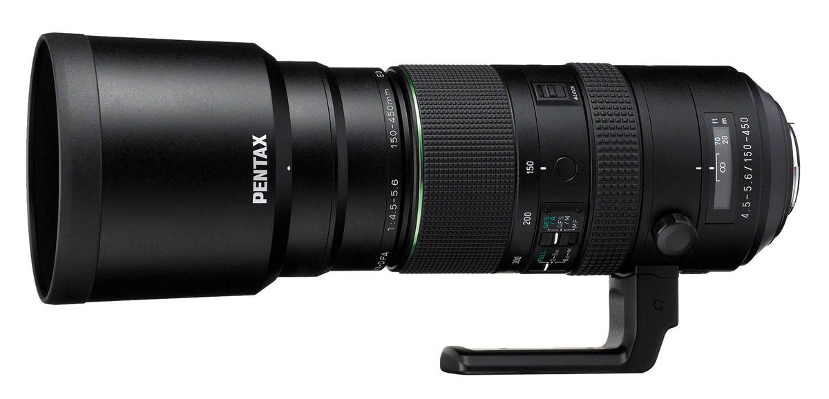 Pentax HD D FA 150-450mm f/4,5-5,6 ED DC AW Test telezoom Objektivtest.se
