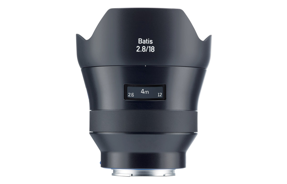 Zeiss Batis 18mm f/2.8 fullformat objektiv Sony A7-serien