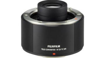 Vädertätad 2x telekonverter från Fujifilm – Fujinon XF 2X TC WR