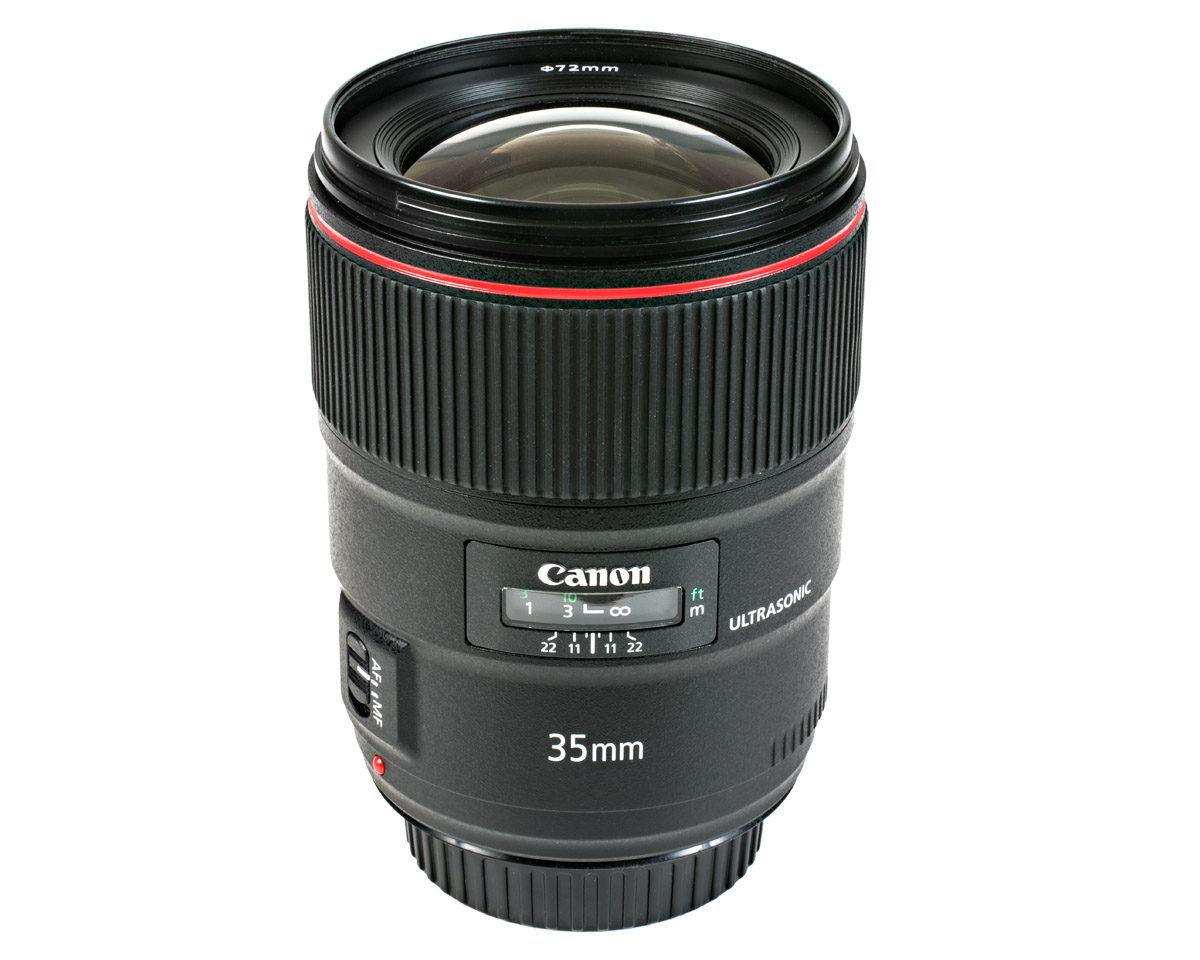 Canon EF 35 mm f/1,4 L II USM test ljusstarkt vidvinkelobjektiv