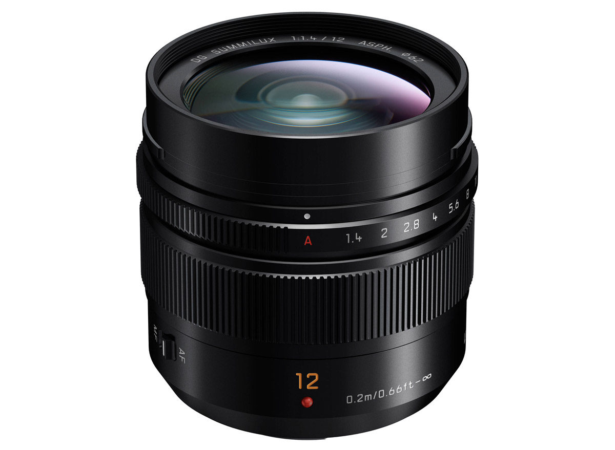 Panasonic Leica DG Summilux 12 mm f/1,4 Asph ljusstark vidvinkel Micro Four Thirds