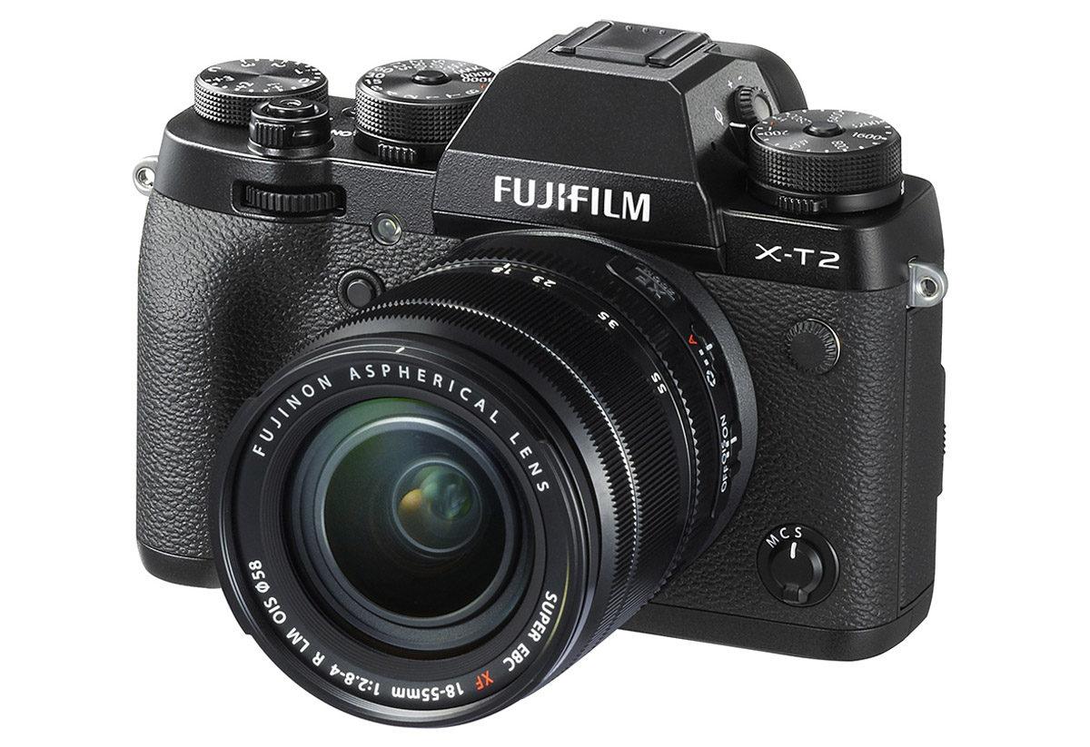 Fujifilm X-T2 systemkamera med 24.3 megapixel och video i 4K