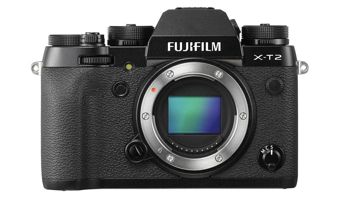 Fujifilm X-T2 med 24.3 megapixel X-Trans CMOS III APS-C-sensor