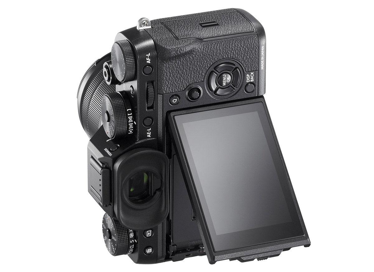 Fujifilm X-T2 vikbar skärm