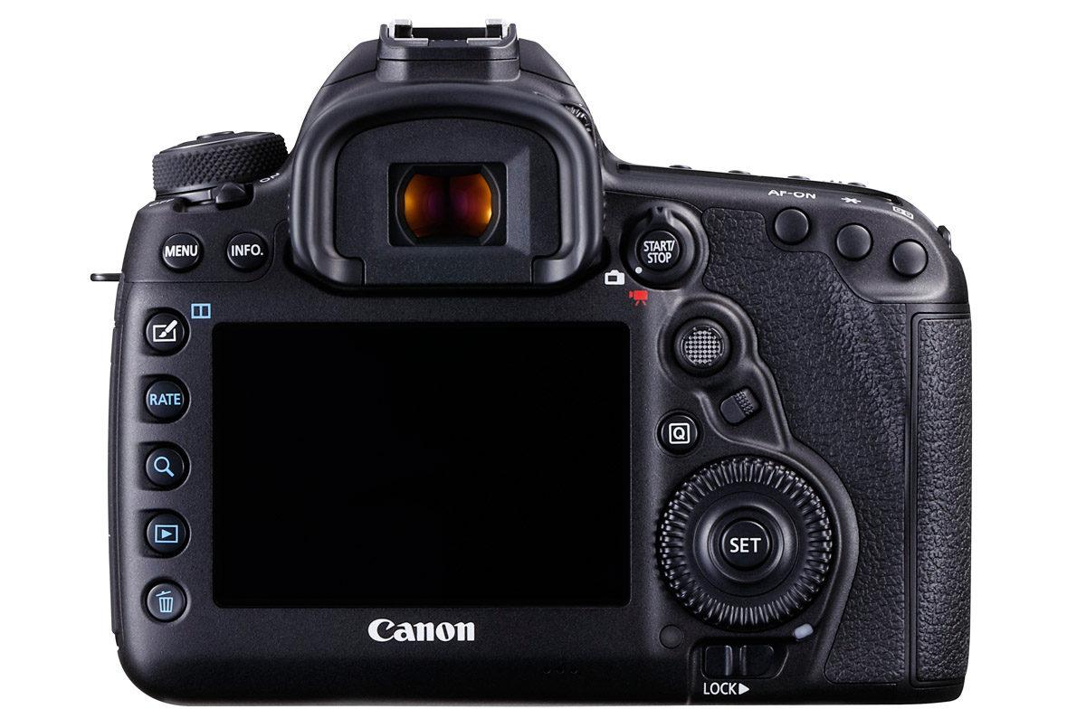 Canon EOS 5D Mark IV baksida