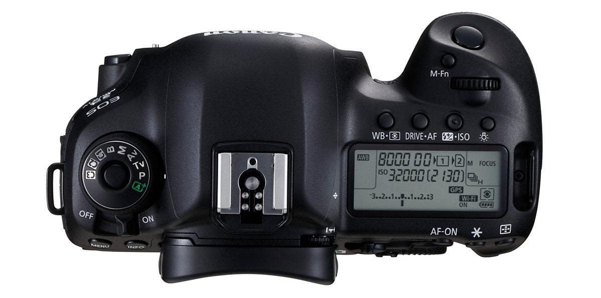 Canon EOS 5D Mark IV ovansida