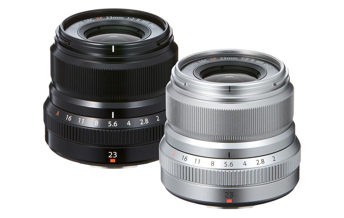 Fujifilm Fujinon XF 23 mm F/2 R WR vidvinkelobjektiv